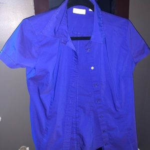 New York & Company Tops - Periwinkle Button Down